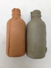 After and before firing