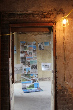 Image room through the doorway