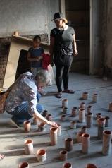 Participants Admiring Pots 1
